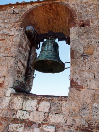massa: The bell from the Candelieri Tower in Massa Marittima