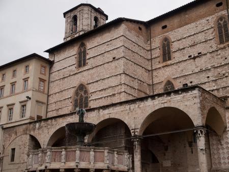 lorenzo: The Cathedral of san Lorenzo in Perugia