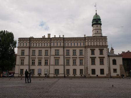 kazimierz: Town Hall in Kazimierz in Krakow Stock Photo