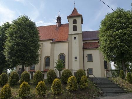 michael the archangel: The Saint Michael Archangel Church in Zebrzydowice ,Poland