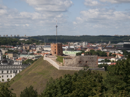 lithuania: View of Vilnius city in Lithuania