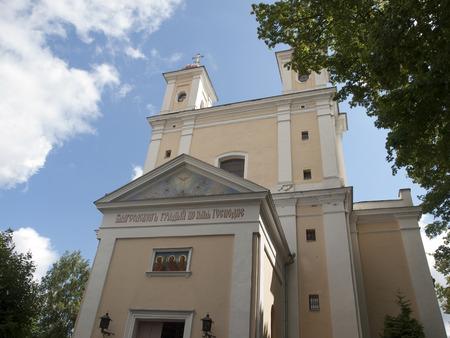 vilnius: The Monastery of St. Spirit in Vilnius, Lithuania Stock Photo