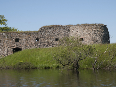 ruin: Kronoberg Castle ruin near Vaxjo in Sweden