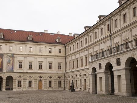 Courtyard of Stadeschlos Weimar Editorial