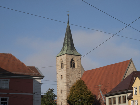 laurence: St.Laurences Church in Erfurt in Germany