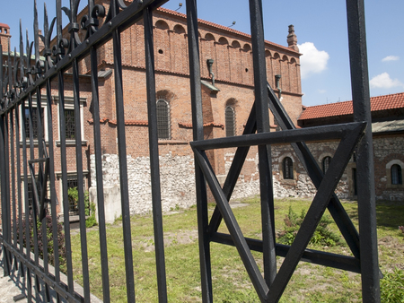 The Old Synagogue in Cracow in Poland