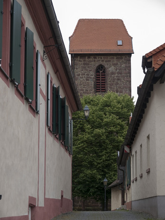 Picture from  medieval city Neuleiningen in Germany Stock fotó