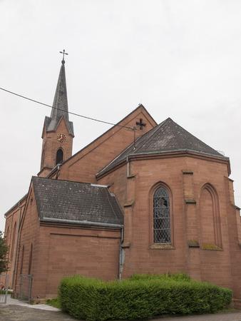 The Holy Cross Church in Carlsberg in Germany