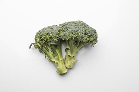 Vegetables on a white background, fresh vegetable diet, composition on a white background.