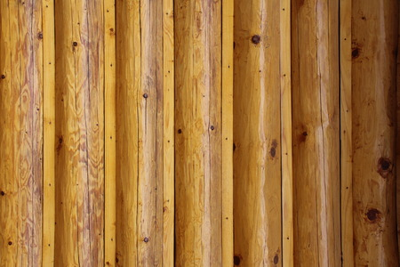 Background with wooden round logs. 版權商用圖片