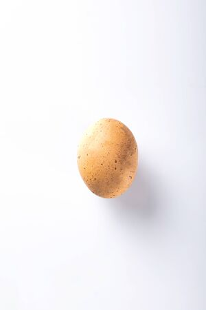 Product   hen egg on a white background