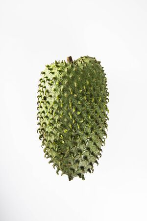 Soursop, an exotic fruit. Sweet tropical green fruit