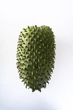 Graviola, an exotic fruit. Sweet tropical green fruit