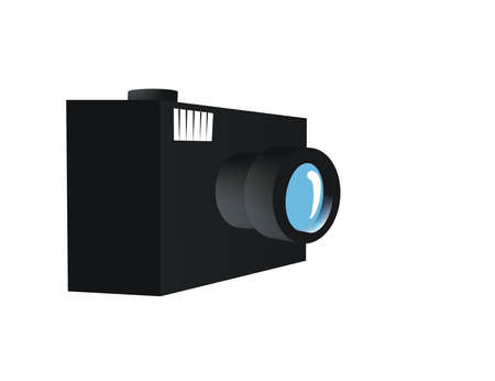 it's a simple camera but it's great Stock Vector - 6532636
