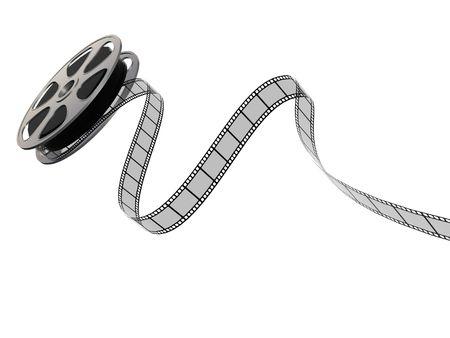 carrete de cine: Rechazando bobina de pel�cula