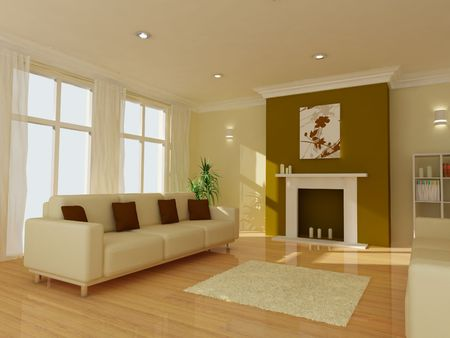 An image of a modern living room photo