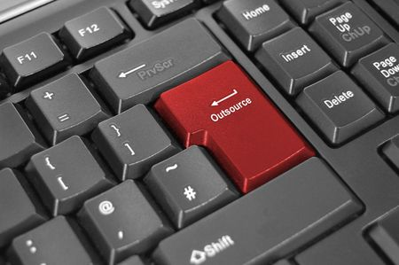 outsource enter key on computer keyboard