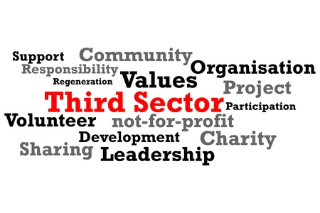 Third Sector Charity Word Map Stock Photo - 10010464