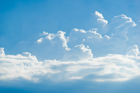 cloud with blue sky