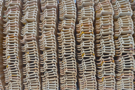 roof tiles abstract background