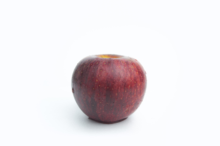 Red apple isolated with white background. Archivio Fotografico