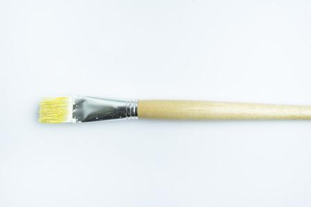 Used brush isoleted on white background.