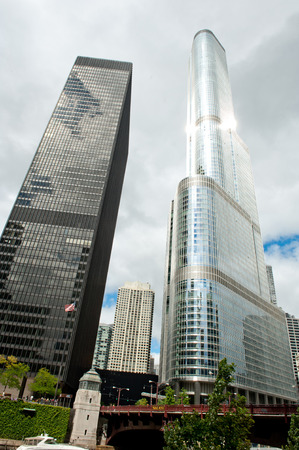 superstructure: chicago high-rise portrait