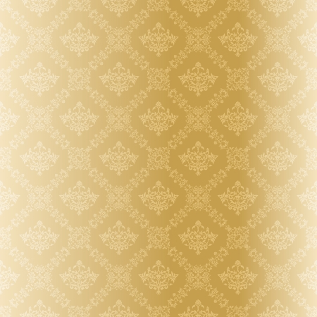 cor: stylish vector background with a classic damask pattern. The tiles can be combined seamlessly. Graphics are grouped and in several layers for easy editing. The file can be scaled to any size.