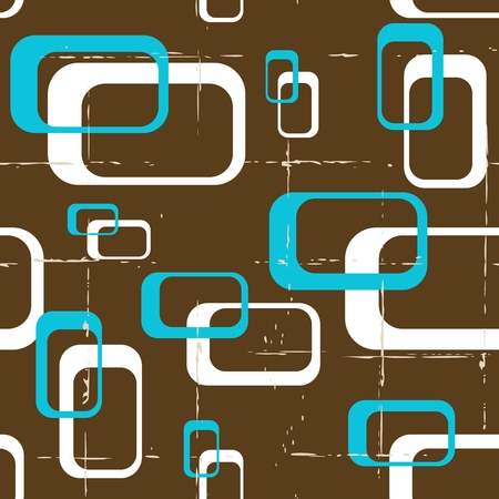 vintage wallpaper: Seamless geometric pattern in retro 60s style.