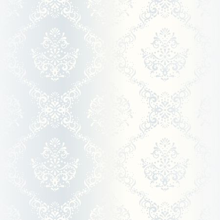 victorian wallpaper: elegant white seamless pattern, prefect for wedding designs. The tiles can be combined seamlessly. Graphics are grouped and in several layers for easy editing. The file can be scaled to any size.