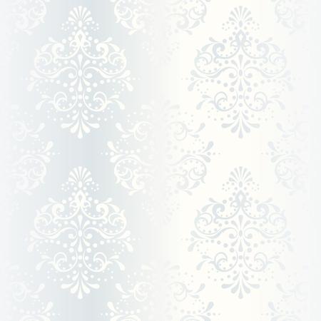 Blanc élégant modèle homogène, préfet de mariage designs. Les tuiles peuvent être combinés de façon transparente. Les graphiques sont regroupés en plusieurs couches pour faciliter le montage. Le fichier peut être adapté à n'importe quelle taille. Banque d'images - 5153660
