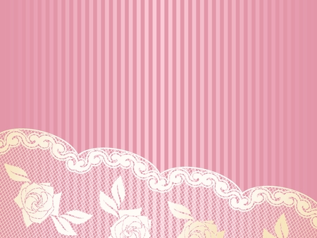 lacework: Sexy background with a French lace design.