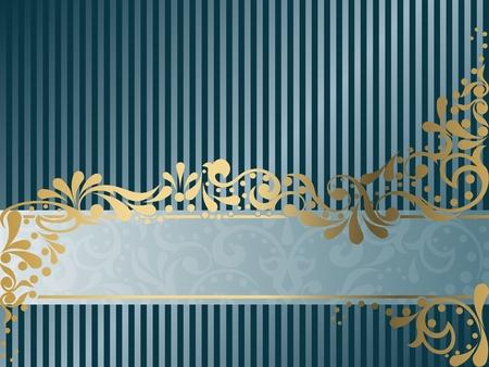 banner orizzontali: Elegante design banner orizzontale ispirato dai disegni dell'epoca vittoriana. Grafici sono raggruppati in diversi livelli per facilitare il montaggio. Il file pu� essere scalata a qualsiasi dimensione.