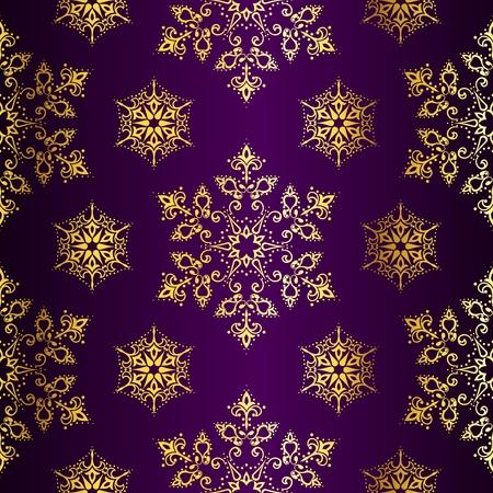 estrellas moradas: Fondo de Navidad transparente p�rpura con estrellas doradas. Azulejos pueden combinarse de manera transparente. Se agrupan los gr�ficos y en varias capas para facilitar su edici�n. El archivo se puede escalar a cualquier tama�o.  Vectores