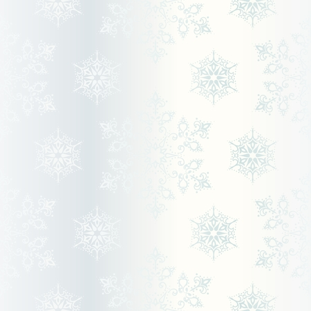 Elegant seamless white background with stars or snowflakes. Tiles can be combined seamlessly. Graphics are grouped and in several layers for easy editing. The file can be scaled to any size. Vector