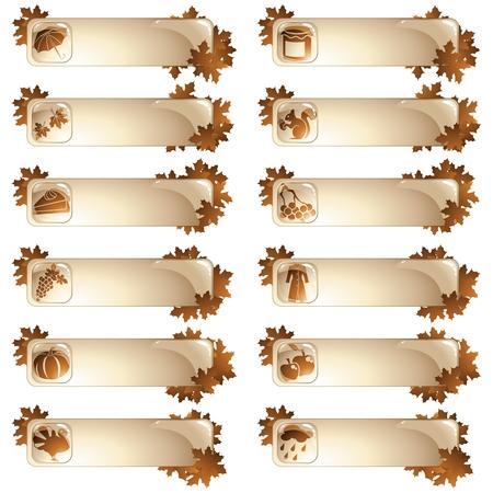 고광택 계절가 레이블의 컬렉션입니다. 그래픽 쉽게 편집 할 수 있도록 여러 레이어에 그룹화됩니다. 파일은 어떤 크기로도 확장 할 수 있습니다.