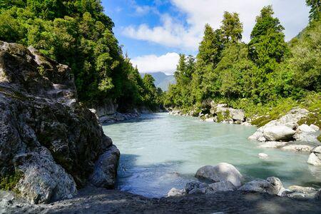 Hokitika Gorge from shore