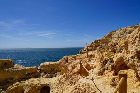 Amoreira beach and cliff, Portugal