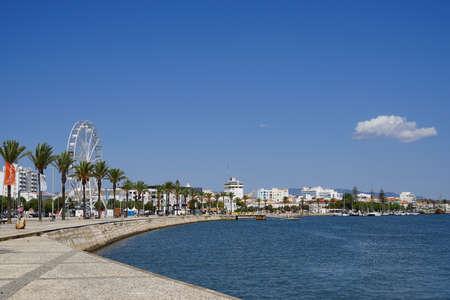 Lagos, Portugal, promenade, port 版權商用圖片