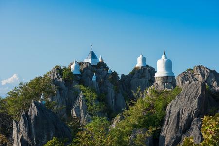 Lampang,Thailand.Old pagoda was built on hilltop. (Watchalermprakiat)
