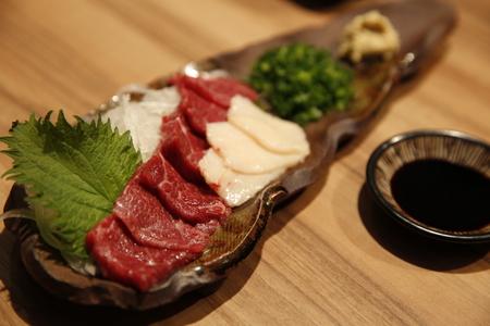 Rauw vlees Japans eten