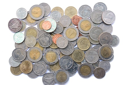 Coin Background Stock Photo - 19334656