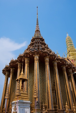 wat phrasrirattana sasadaram the temple of the emerald buddha bangkok, thailand photo