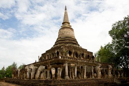 temple in sukhothai, Thailand photo
