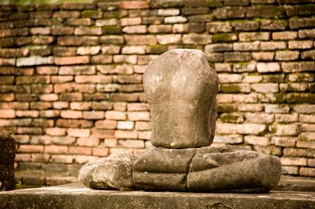 buddha statue  Sukhothai, thailand photo
