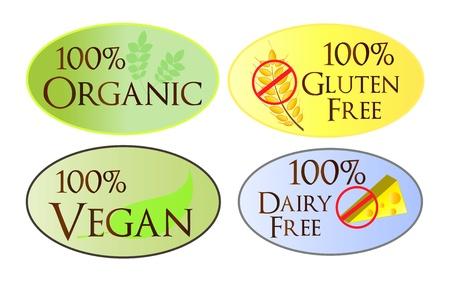 Organic Web Buttons Vettoriali