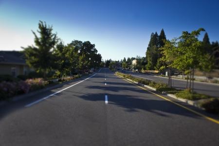 suburbs: Barnes Road Portland Oregon