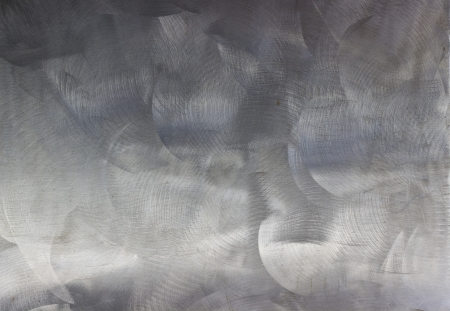 steel sheet: A silver brushed metal background texture  Stock Photo