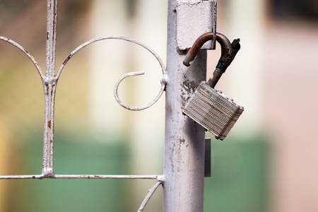 Old lock key. Stock Photo