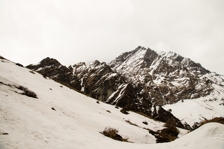 View on the way to the Annapurna Base Camp Area in Nepal.